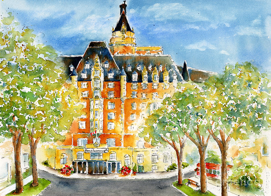 Impressionism Painting - The Bess by Pat Katz