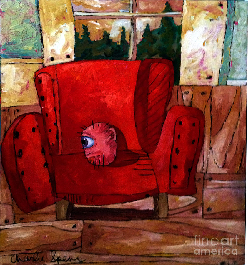Personality Painting - The Best Days Of My Head by Charlie Spear