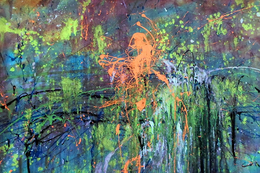 The Best Of Intentions Painting by Leticia Sedberry