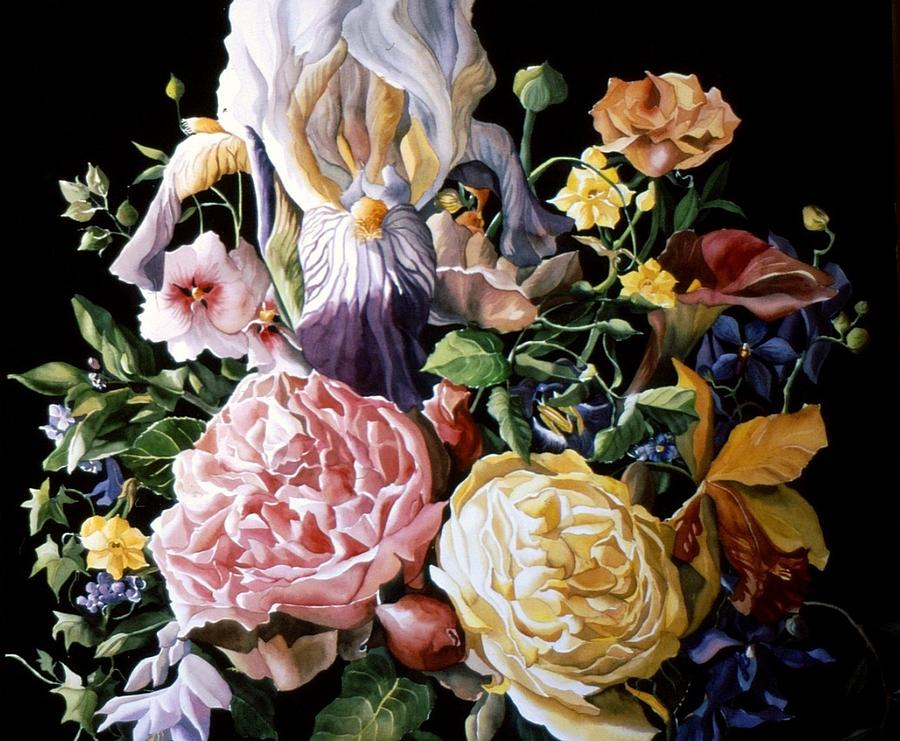 Flower Painting - The Best Of Spring by Alfred Ng