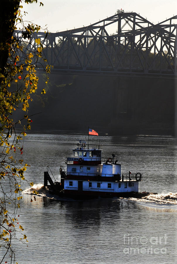 Tugboat Photograph - the BettyeJenkins by Leon Hollins III
