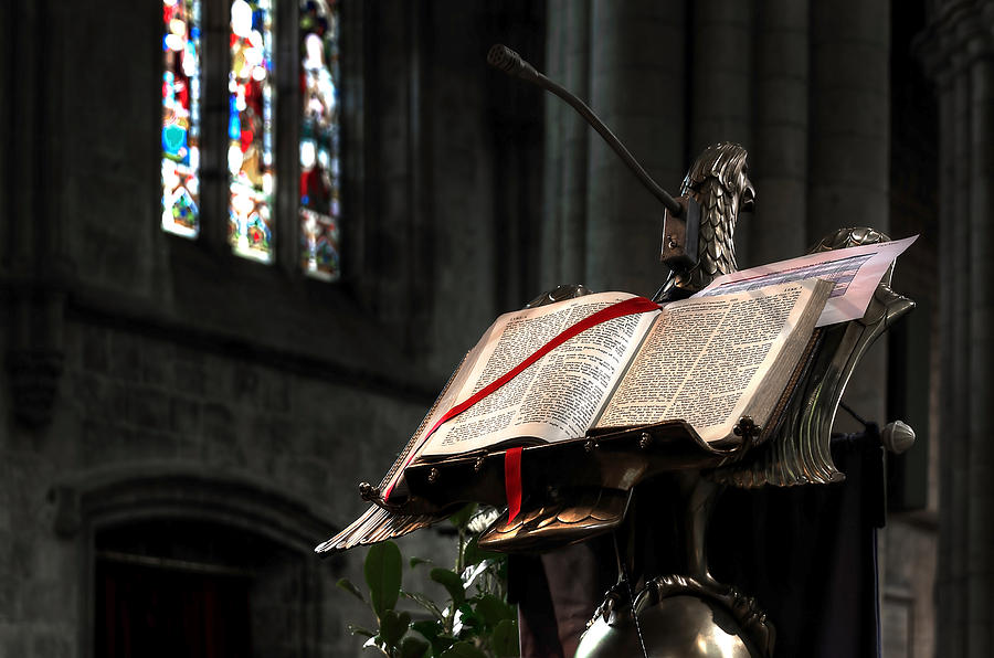 Abbey Photograph - The Bible by Svetlana Sewell