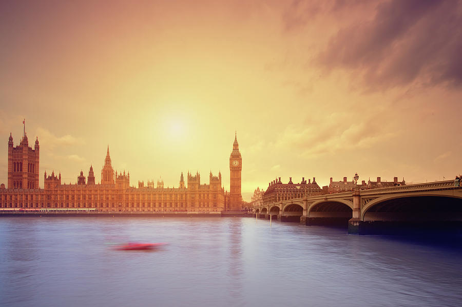 The Big Ben And Parliament In London Photograph by Mammuth
