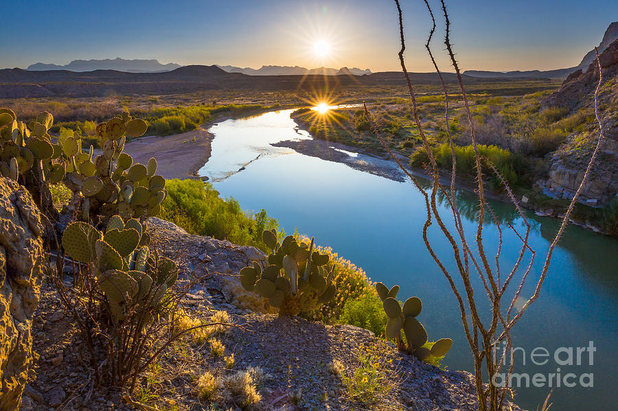 America Photograph - The Big Bend by Inge Johnsson