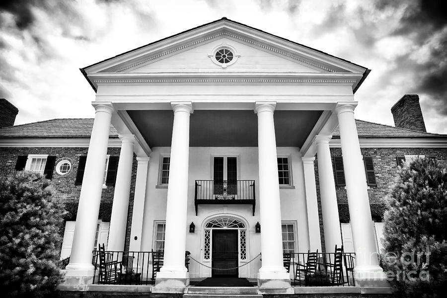 The Big House Photograph - The Big House by John Rizzuto