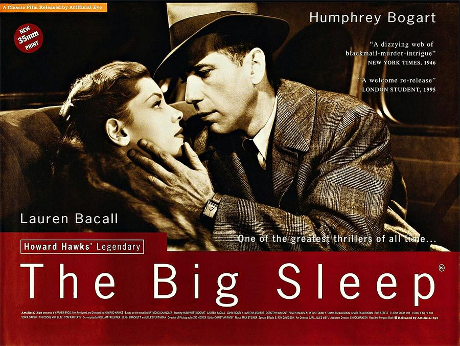The Big Sleep Photograph - The Big Sleep  by Movie Poster Prints