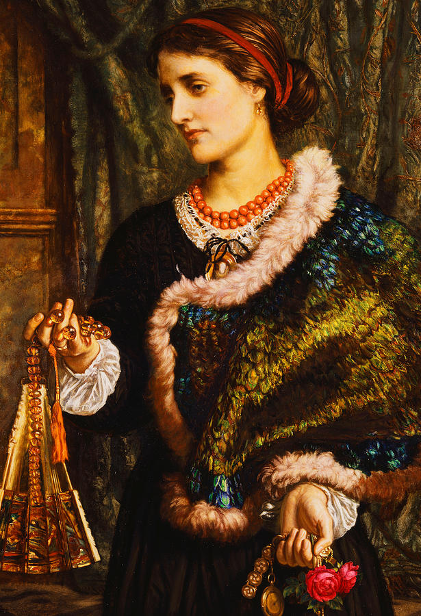 The Birthday Painting by William Holman Hunt