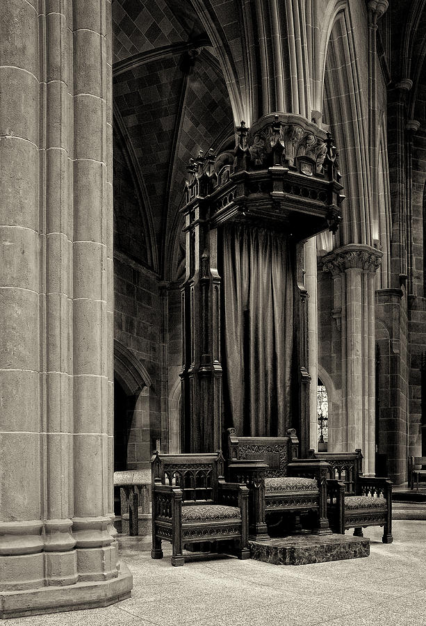 Bishop Photograph - The Bishops Chair by Dick Wood
