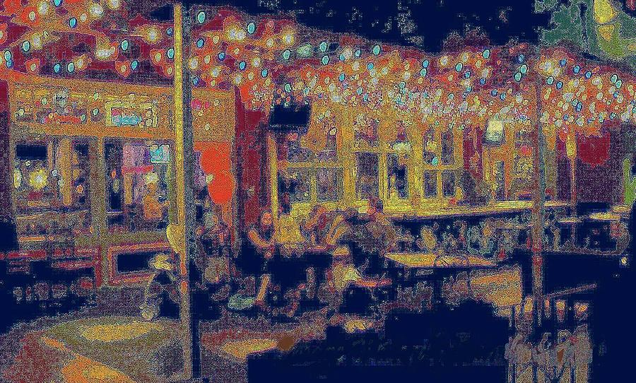 THE BISTRO PATIO by Pamela Smale Williams