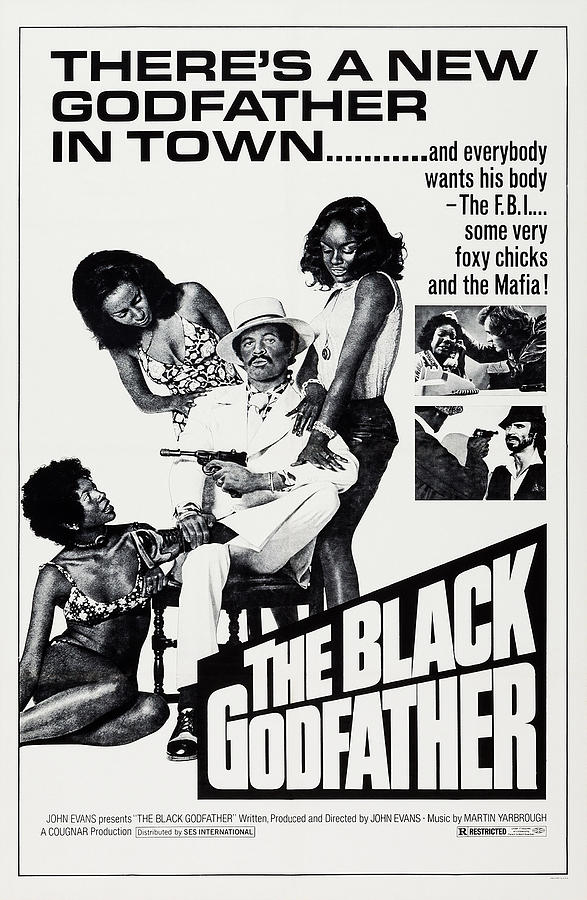 The Black Godfather, Us Poster Art, 1974 Photograph by Everett