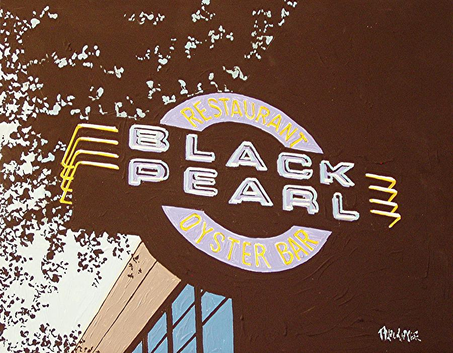Sacramento Painting - The Black Pearl In Midtown by Paul Guyer