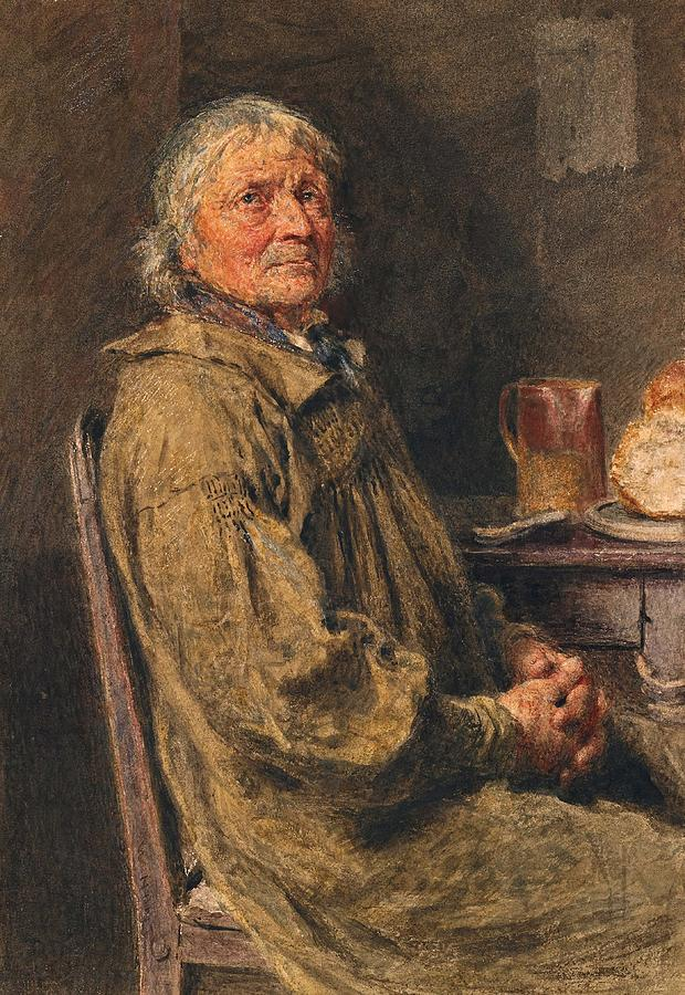 Blessing Painting - The Blessing by William Henry Hunt