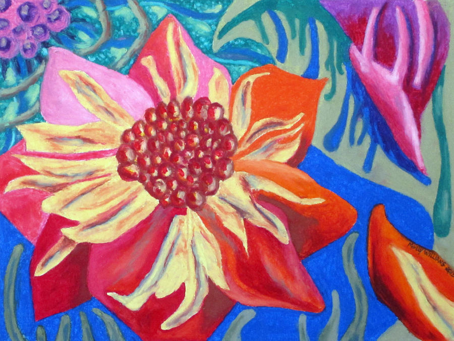 Blossom Painting - The Blossom by Molly Williams