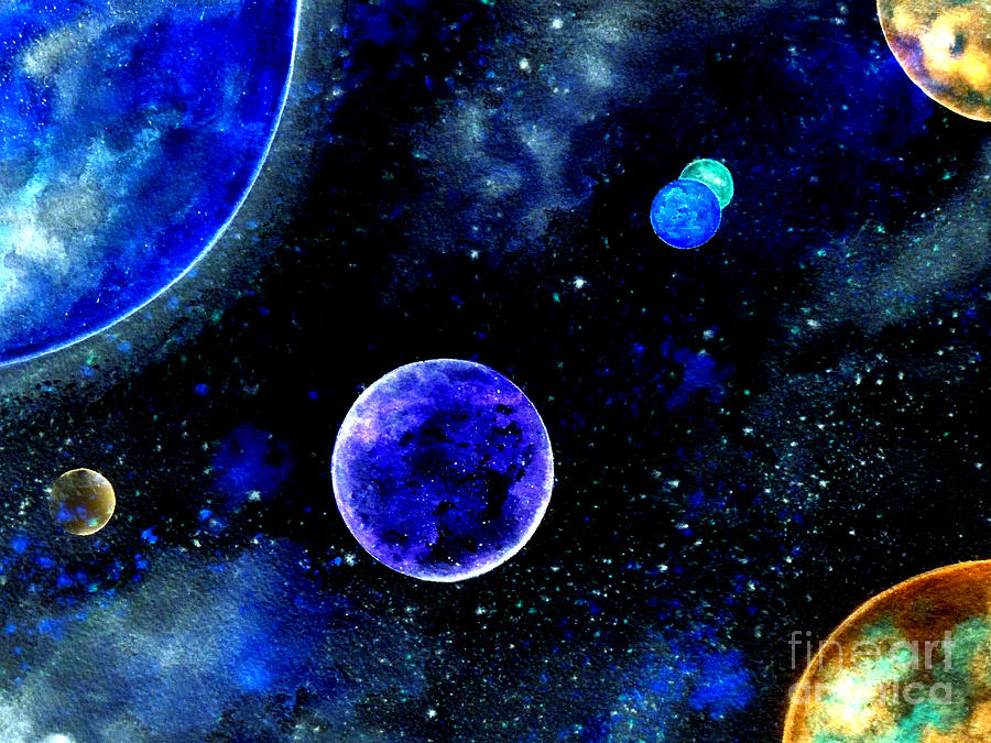 How To Paint Planets Acrylic
