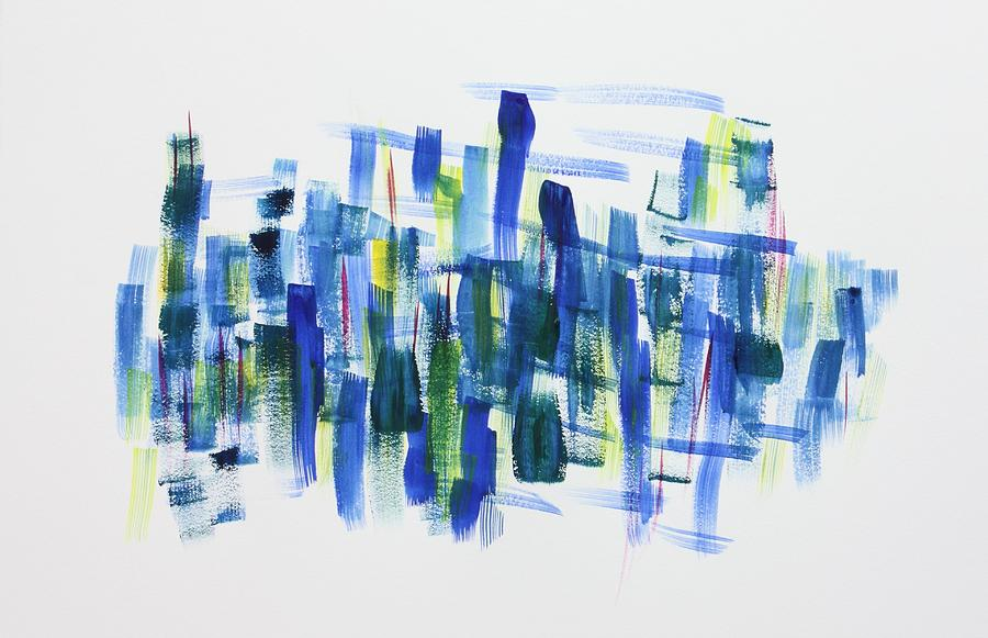 Blues Painting - The Blues at Dawn by Tom Atkins