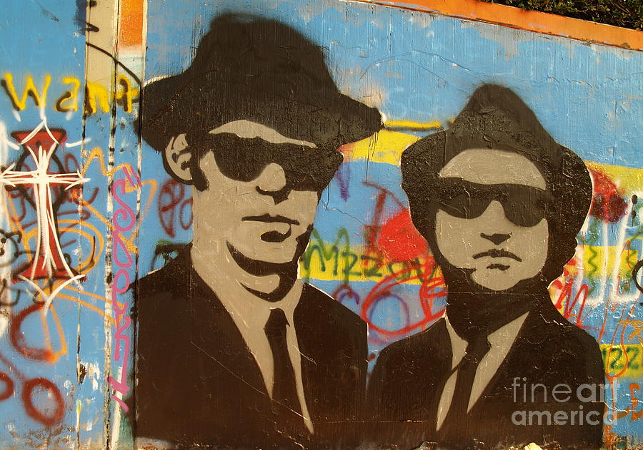 The Blues Brothers Photograph - The Blues Brothers by Craig Pearson
