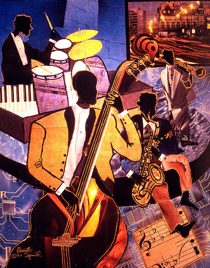 Картинки в стиле джаз и блюз