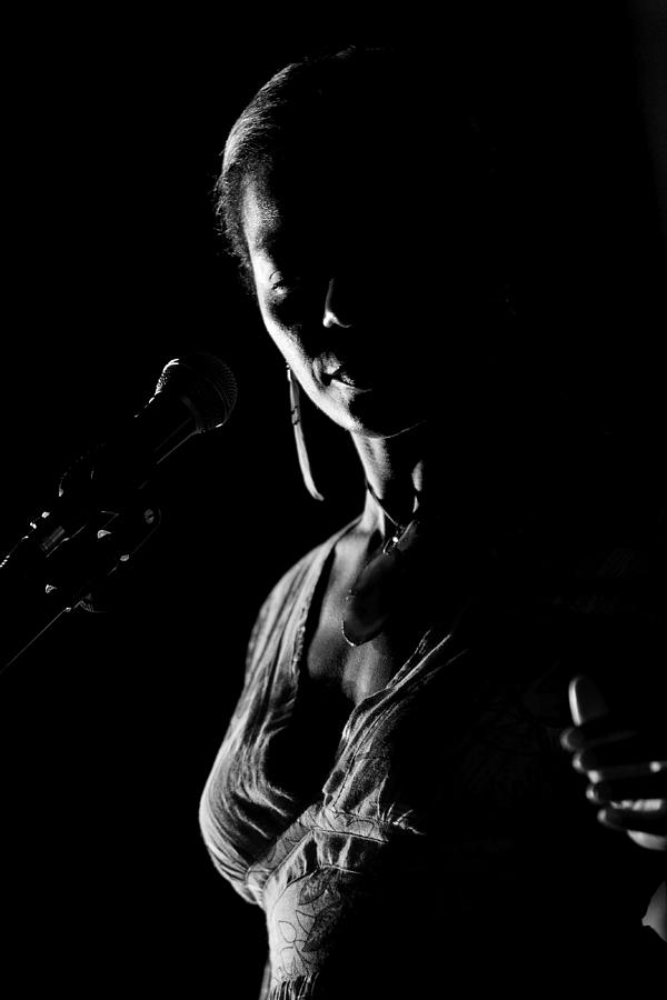 Woman Photograph - The blues singer by Goyo Ambrosio