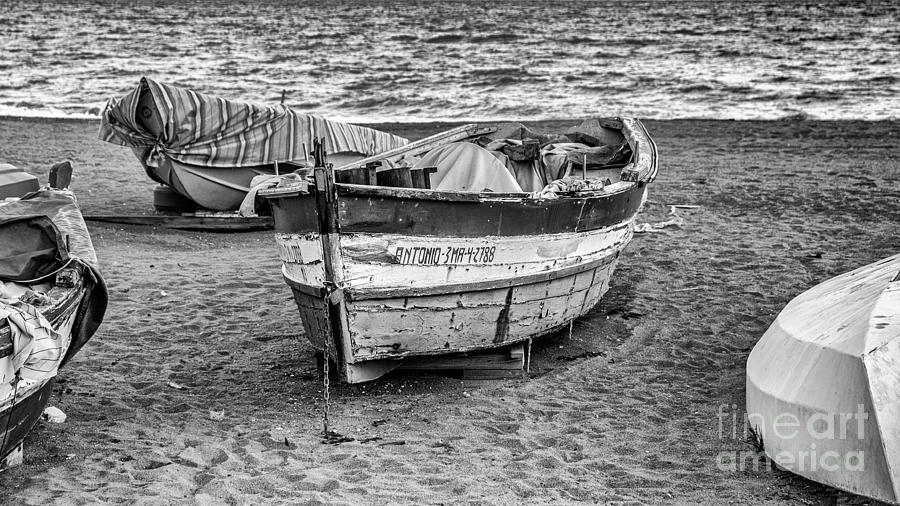 Malaga Photograph - The Boat by Eugenio Moya
