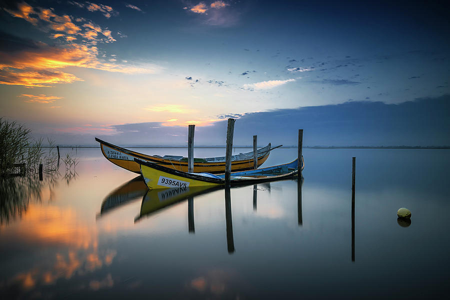 Landscape Photograph - The Boats by Rui Ribeiro