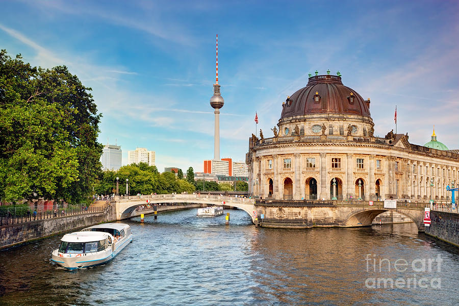 Germany Photograph - The Bode Museum Berlin Germany by Michal Bednarek