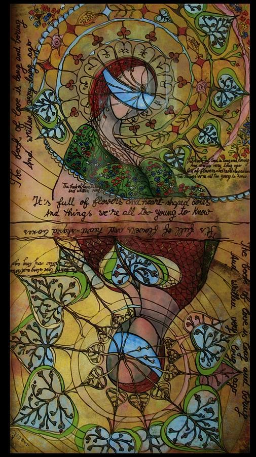 Magic Painting - The Book Of Love - Part 1 by Cornelia Tersanszki