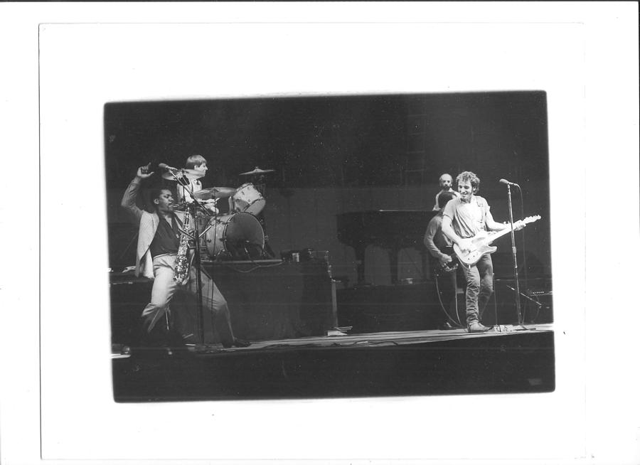 Bruce Springsteen Photograph - The Boss And Clarence 2 by Bc Adamkowski
