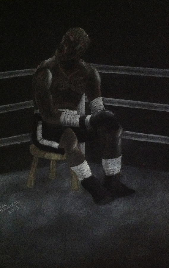 The Boxer 2013 Drawing by Carl Frankel