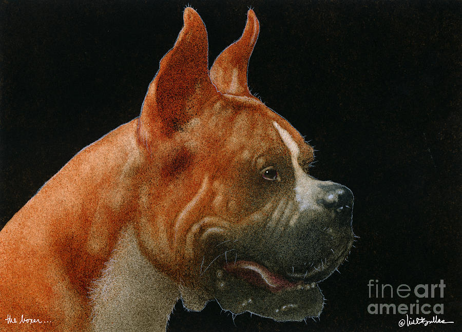 Will Bullas Painting - The Boxer... by Will Bullas