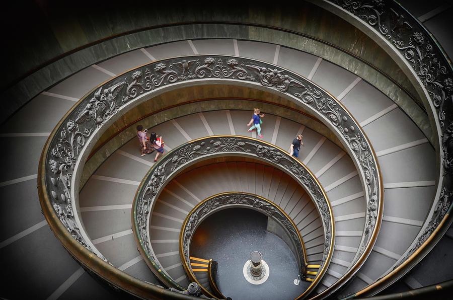 The Bramante Staircase In Vatican Photograph by Dragos Cosmin Photos