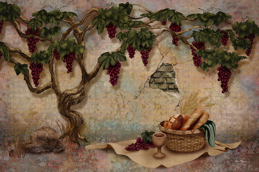 The Bread And The Vine Digital Art