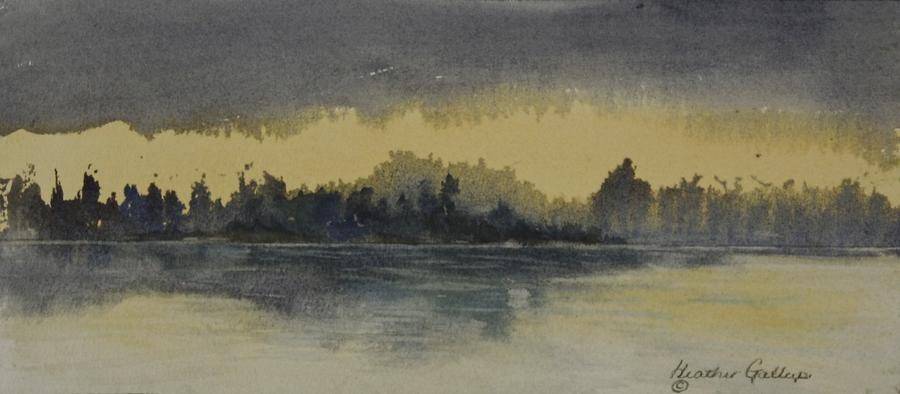 Daybreak Painting - The Break Of Day by Heather Gallup