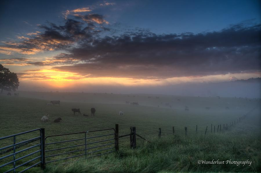 Farm Photograph - The Break Of Day by Paul Herrmann