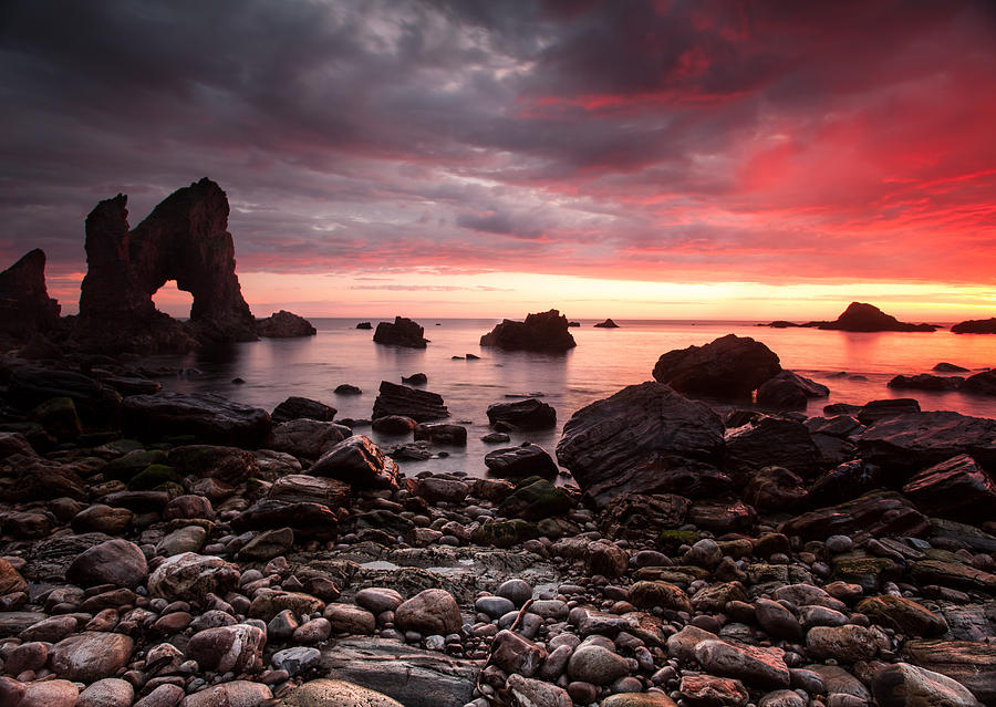 Arch Photograph - The Breeches Arch by Craig Brown