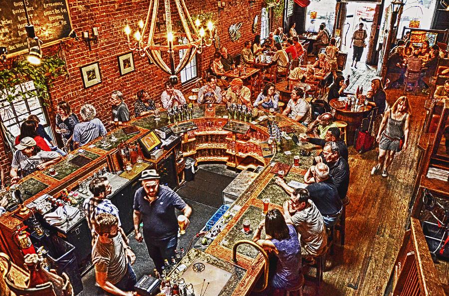 Bars Photograph - The Brick Store Pub by Paul Mashburn