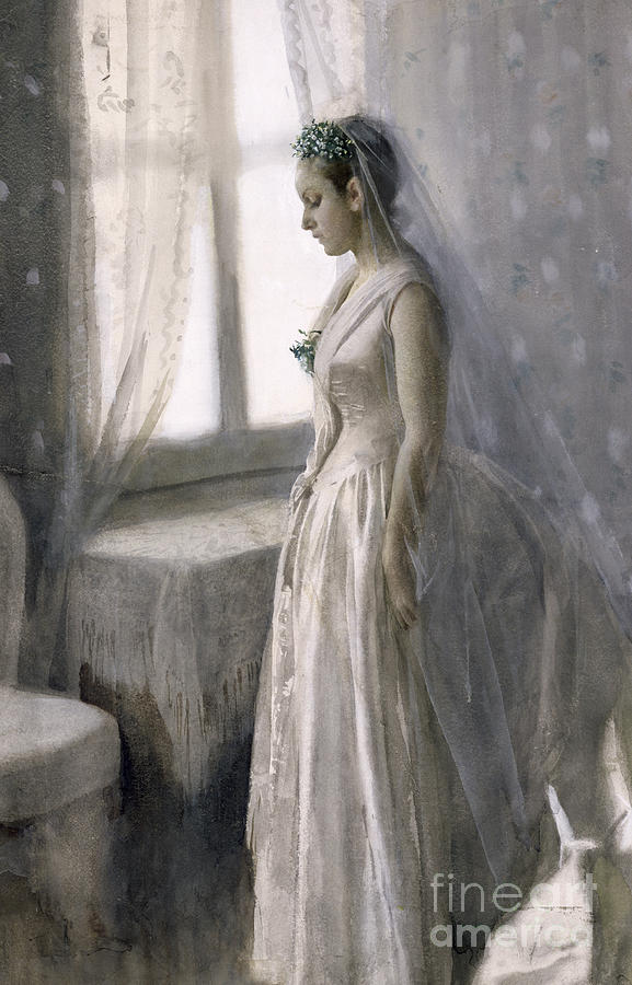 Female Painting - The Bride by Anders Leonard Zorn