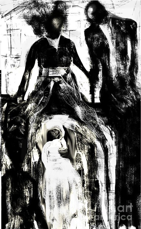 The Bride Digital Art by Rc Rcd