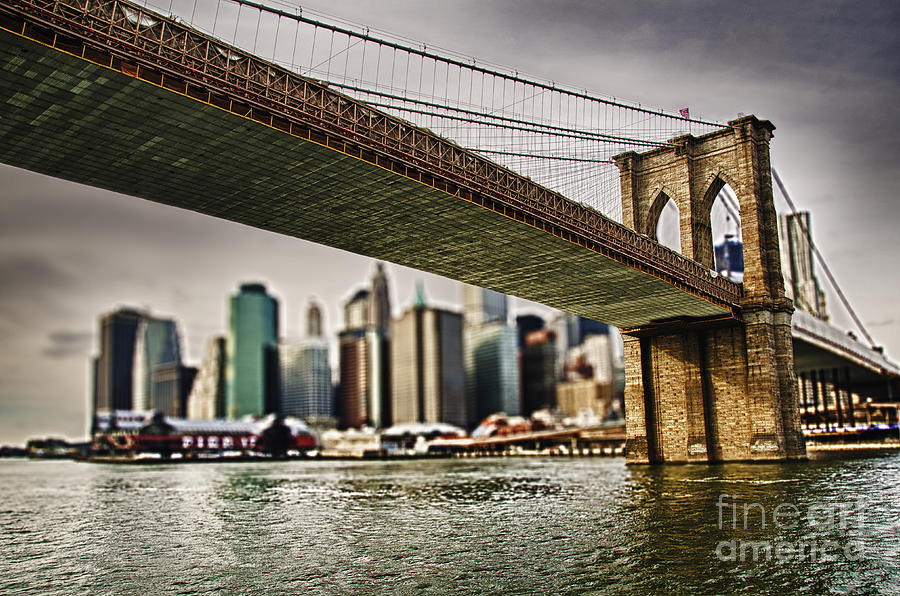 Sky Photograph - The Bridge by Alessandro Giorgi Art Photography