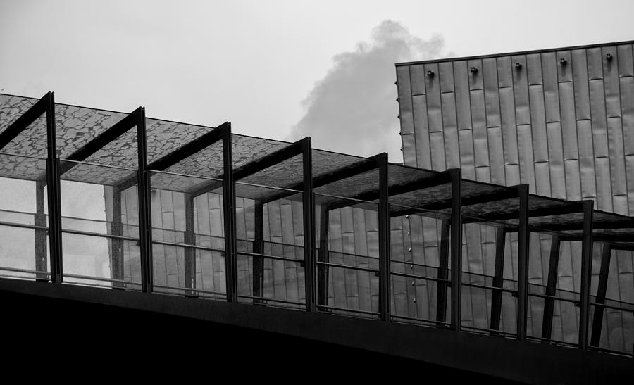 Urban Architecture Photograph - The Bridge by Andrew Menzies