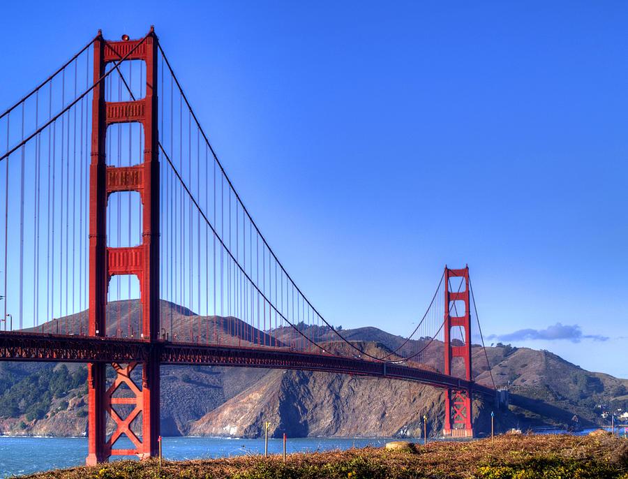 Golden Gate Bridge Photograph - The Bridge by Bill Gallagher