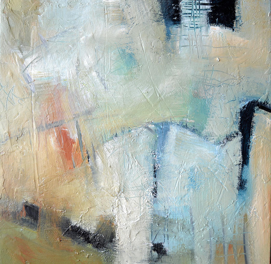 Abstract Painting - The Bridge by Filomena Booth