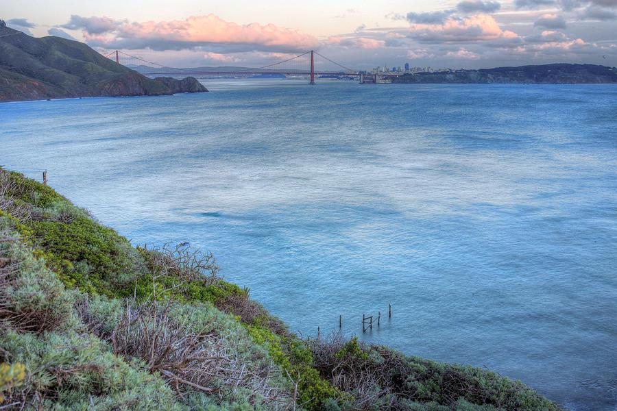 Bonita Point Photograph - The Bridge by JC Findley