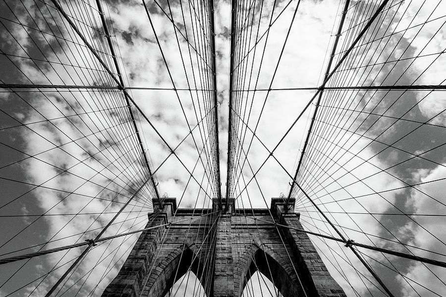 Brooklyn Photograph - The Bridge by Susumu Nihashi