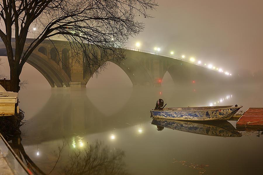 Metro Photograph - The Bridge To Nowhere by Metro DC Photography