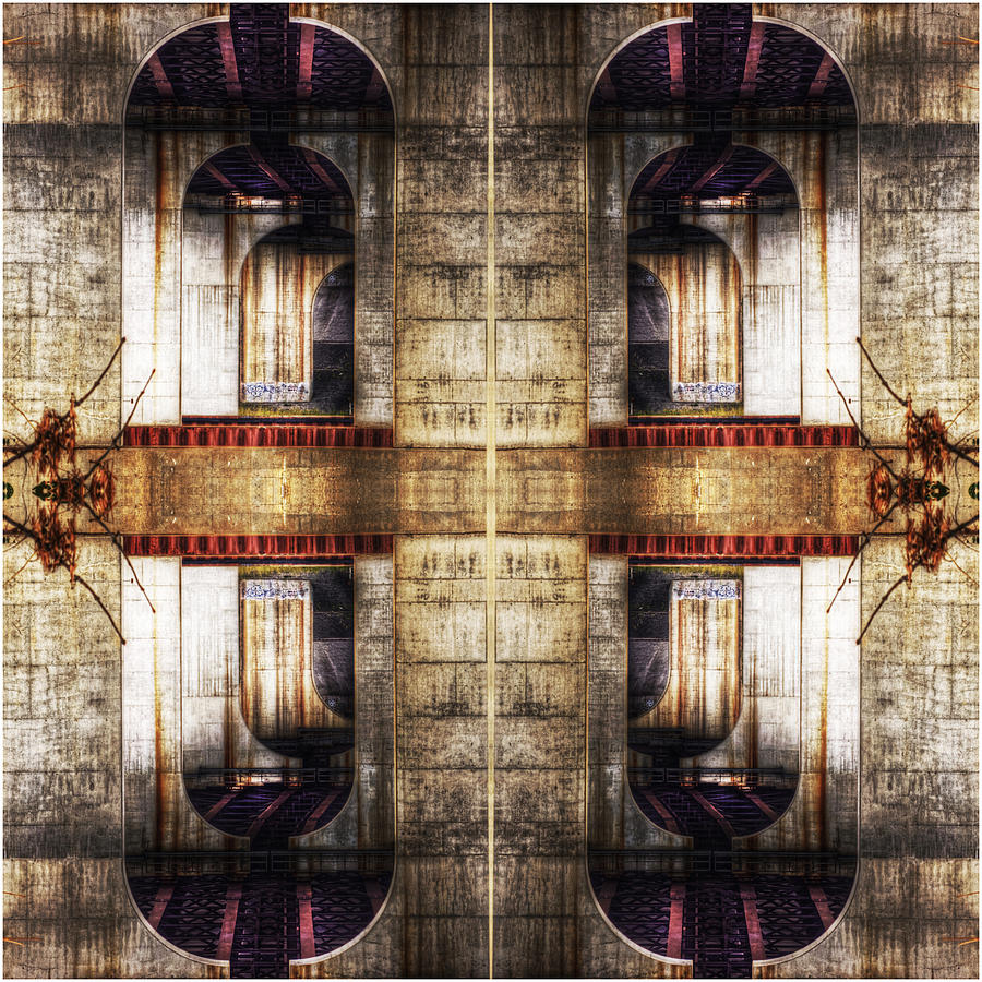 Abstracts Photograph - The Bridges by Don Powers