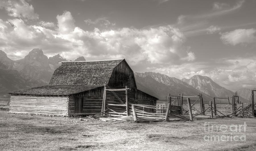 Mormon Photograph - The Broken Fence by Kathleen Struckle