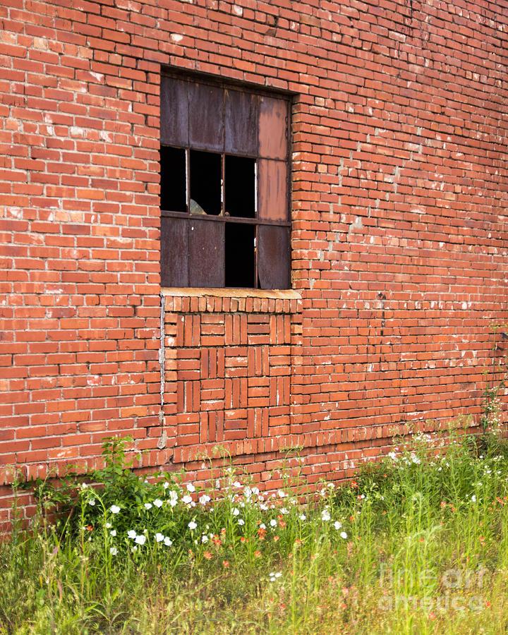 Broken Window Photograph - The Broken Window by Laura Deerwester