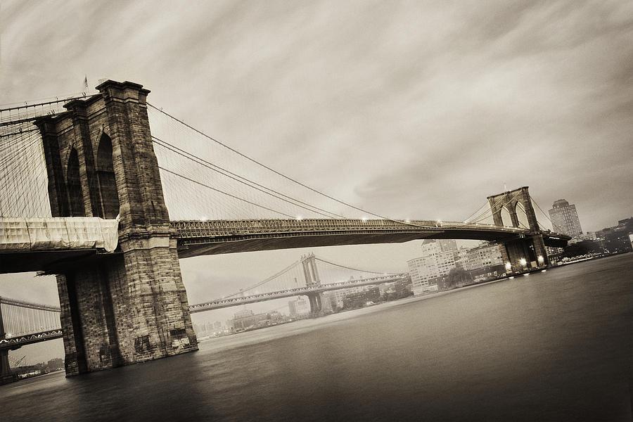 New York City Photograph - The Brooklyn Bridge by Eli Katz