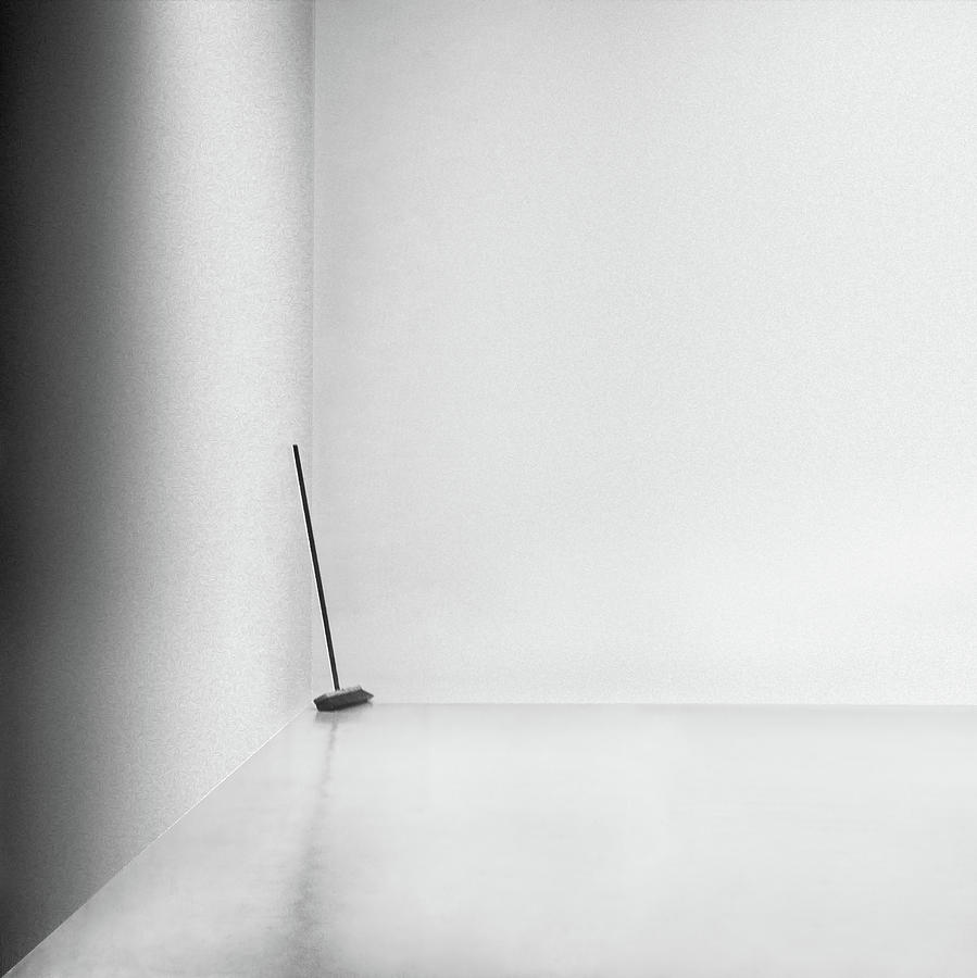 Abstract Photograph - The Broom by Gilbert Claes