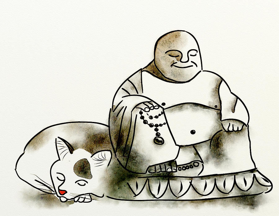 The Buddha and the Cat by Brett Shand